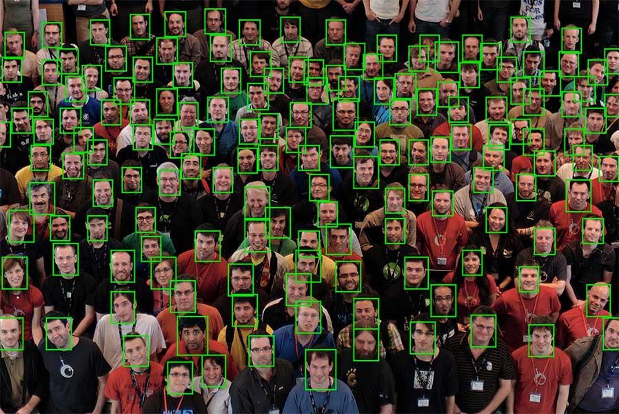 روشهای مکانیابی چهره بر پایهی تصاویر
